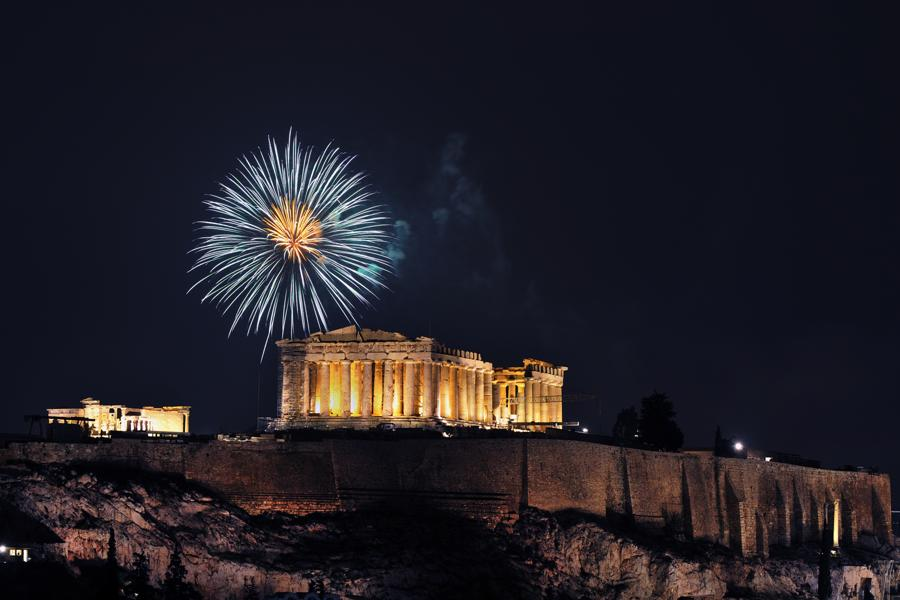 Griechenland – Silvester in Athen